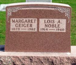 Margaret <I>Flynn</I> Noble-Geiger