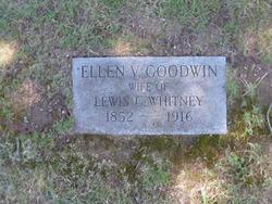 Ellen V. <I>Goodwin</I> Whitney