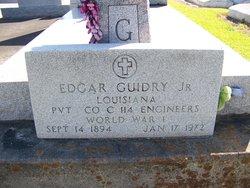 Edgar Guidry, Jr