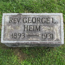 Rev George Leroy Heim