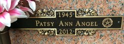 Patsy Ann <I>Cone</I> Angel