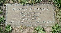 """Francis Emmanuel """"Frank"""" Rogers"""