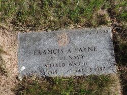 Francis A Fayne
