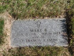 Mary B Fayne