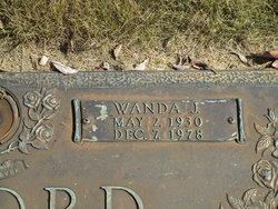 Wanda Joyce <I>Beckham</I> Alford
