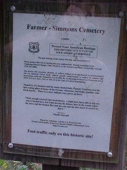 Farmer-Simmons Cemetery
