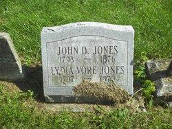 Lydia <I>Vore</I> Jones