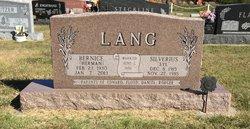 """Silverius """"Syl"""" Lang"""