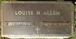 Louise H. <I>Harris</I> Allen
