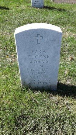Ezra Eugene Adams