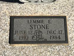 Lemmie E. Stone