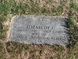 Elizabeth J Albee