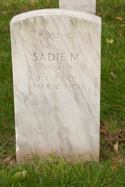 Sadie M Bertrand
