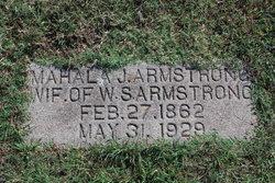 Mahala Jane <I>Shockey</I> Armstrong