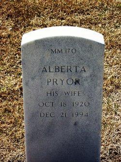 Alberta Pryor Brown