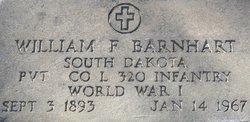 William F Barnhart