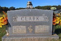 Mary Elizabeth <I>Pullen</I> Clark
