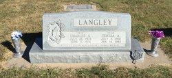 Teresa Agnes <I>Nicholson</I> Langley