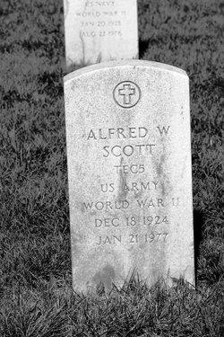Alfred W Scott