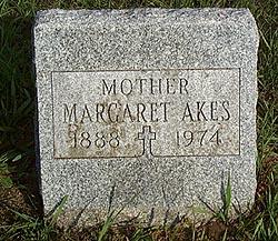 Margaret Elizabeth <I>Lawson</I> Akes