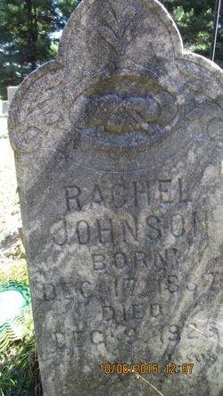 Rachel <I>Sutherland</I> Johnson