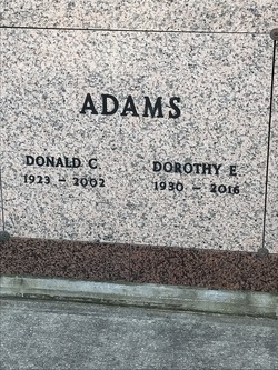Donald C Adams