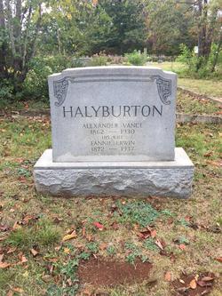 Fannie <I>Erwin</I> Halyburton
