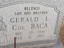 Gerald L C de Baca