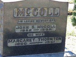 Margaret Jane <I>Thornton</I> McColl