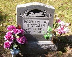 Rosemary <I>Wiseman</I> Conn    Huntsman