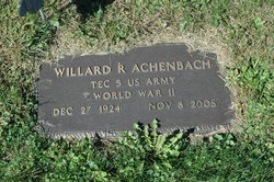 Willard R. Achenbach