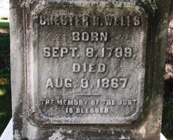 Chester Robbins Wells