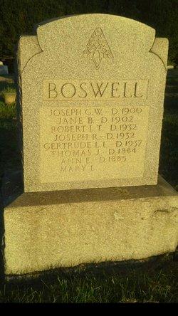 Joseph G. W. Boswell