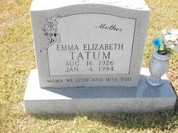 Emma Elizabeth Tatum