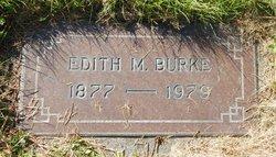 Edith Maude <I>Church</I> Burke