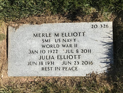 Merle Melvin Elliott, Sr