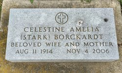 "Celestine A ""Sally"" <I>Stark</I> Borckardt"