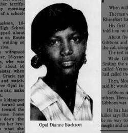 7d6fd7b3a0305 Opel Dianne Buckson (1953-1968) - Find A Grave Memorial
