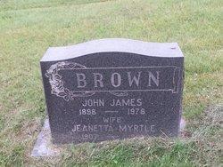 "John James ""Johnnie"" Brown"