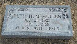 Ruth Helen <I>Langford</I> McMullen