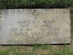 Harold V Bird