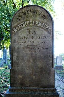 Rebecca Holmes <I>McGuire</I> Macky