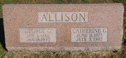 """Catherine Ann """"Katie"""" <I>Lamont</I> Allison"""