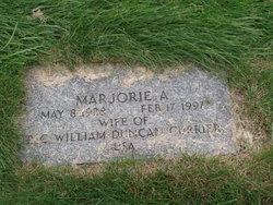 Marjorie A Currier