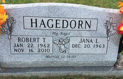 "Robert T. ""Bob"" Hagedorn"