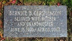Bernice <I>Bronstein</I> Gershenson