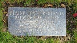 Elaine Gershenson