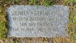 Stephen Gershenson