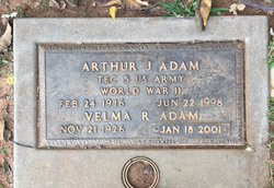 Velma Ruth Adam