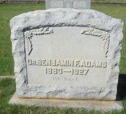 Dr Benjamin F. Adams
